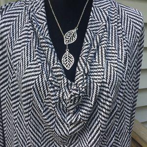 Michael Kors long sleeve size L blouse